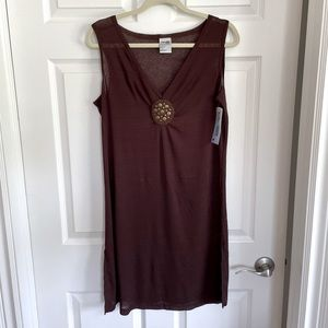 Bundle 2/20$ or 3/30$ NWT Brown Beach 🏝 Cover Up size XL